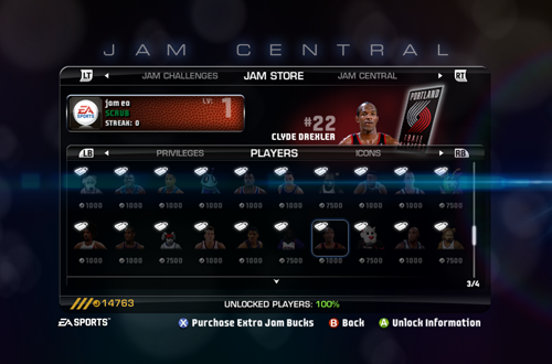 Jam Central in NBA Jam: On Fire Edition