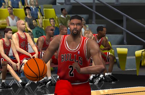 Khalid El-Amin in NBA Live 2001
