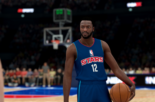 Corey Harris in NBA 2K19's MyCAREER