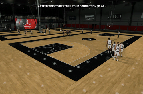 Connection Error in the Jordan Rec Center (NBA 2K19)
