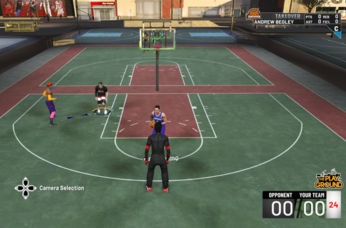 2v2 in The Playground (NBA 2K19)