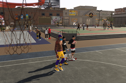 The Playground in NBA 2K19