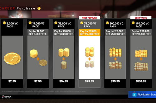 Recurrent Revenue Mechanics invite Excuses (NBA 2K19)