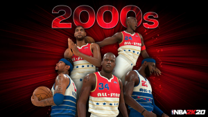 2000s All-Decade Team in NBA 2K20