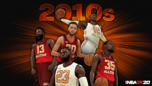2010s All_Decade Team in NBA 2K20