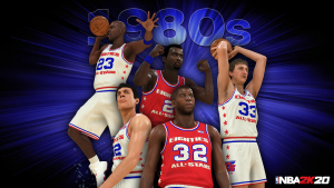 1980s All-Decade Team in NBA 2K20