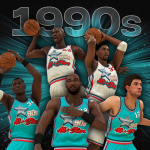 1990s All-Decade Team in NBA 2K20