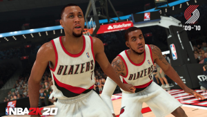 2010 Portland Trail Blazers in NBA 2K20