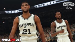 2014 San Antonio Spurs in NBA 2K20