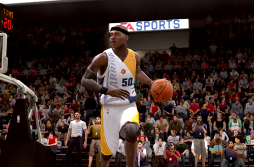 Corey Maggette in the Gold Standard Jersey (NBA Live 09)