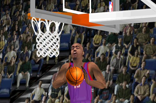 Vince Carter on the Toronto Raptors (NBA Live 2000)
