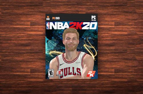NBA 2K20 Cover in MyCAREER (NBA 2K19)