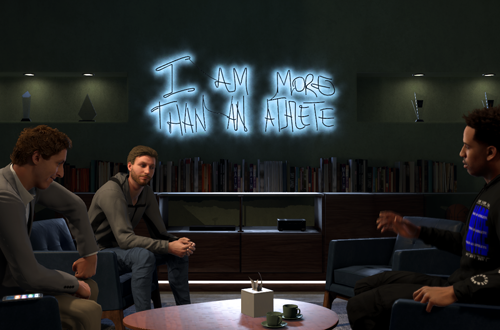 MyCAREER Cutscene in NBA 2K20