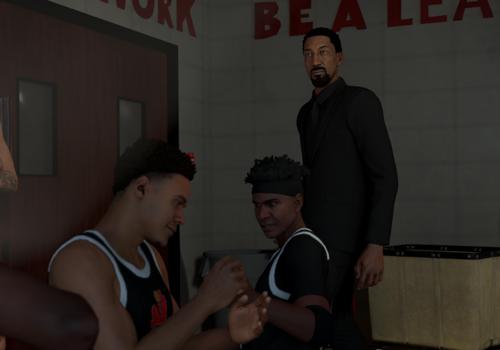Scottie Pippen in NBA 2K20's MyCAREER