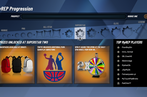 Superstar 2 Rewards in MyCAREER (NBA 2K20)
