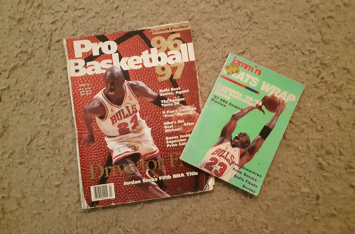 NBA Magazines used to update Rosters