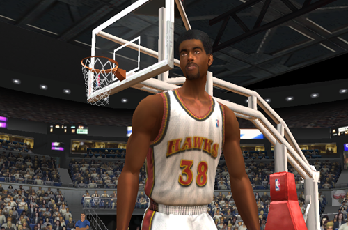 Mikki Moore in NBA Live 2003
