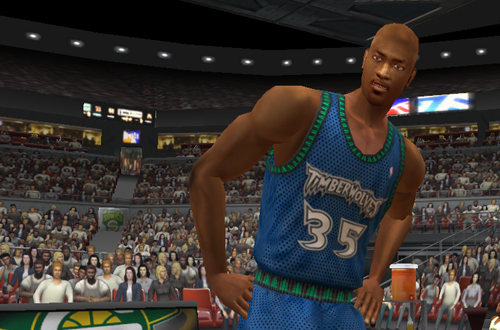 Reggie Slater in NBA Live 2003
