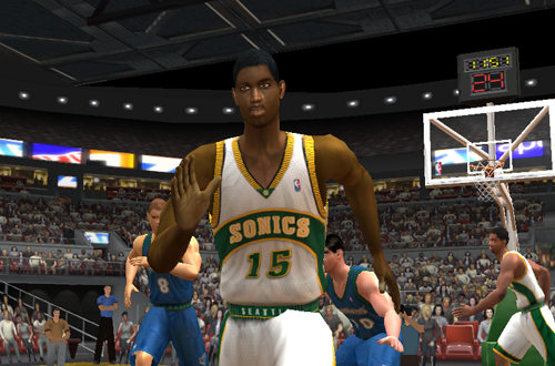Ronald Murray in NBA Live 2003