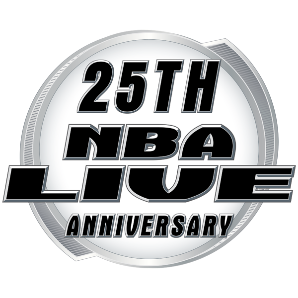 25th Anniversary of NBA Live Logo