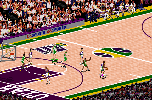 Celtic Pride in NBA Live 95
