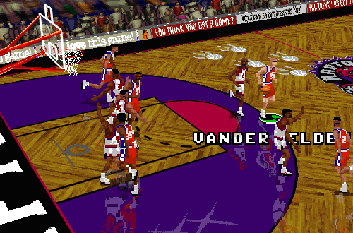 Logan Vander Velden in NBA Live 96