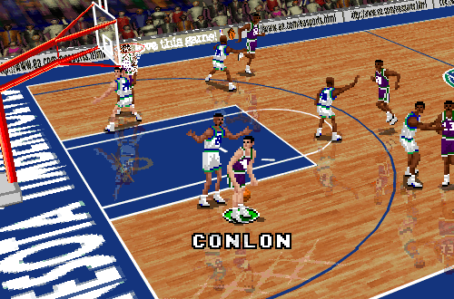 Marty Conlon in NBA Live 96