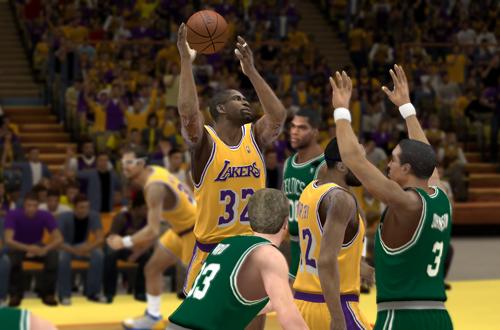 1987 Lakers vs 1987 Celtics (UBR 2K12)