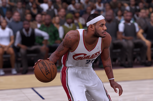 LeBron James on the 2007 Cavaliers (NBA 2K16)
