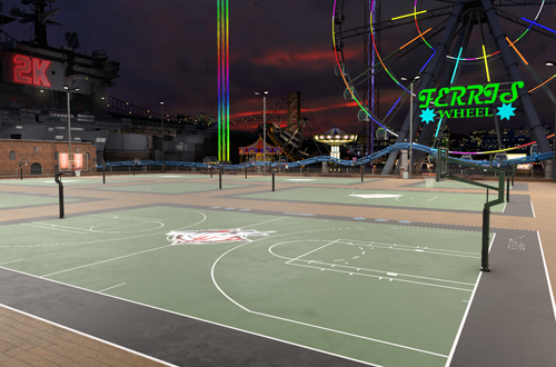 Old Town in NBA 2K17