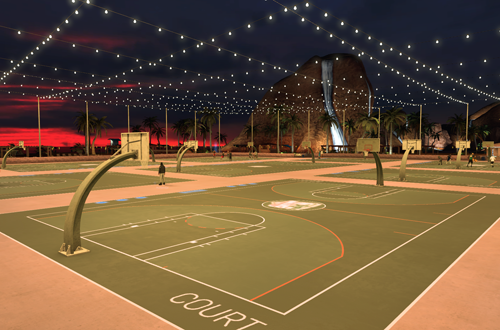 Sunset Beach in NBA 2K17