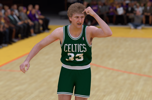 Larry Bird in NBA 2K19