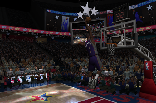 Dunk Contest in NBA Live 07