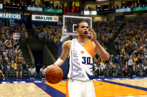 Stephen Curry in NBA Live 10