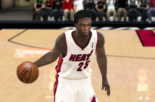 Patrick Beverley on the Heat (NBA 2K11)