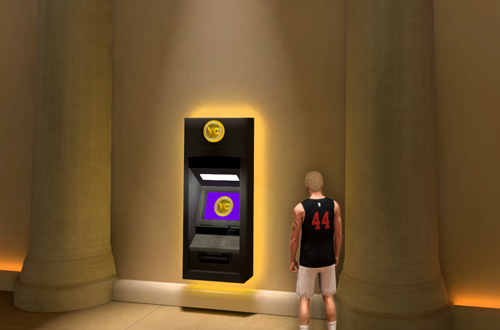 ATM in Ante-Up Room (NBA 2K20)