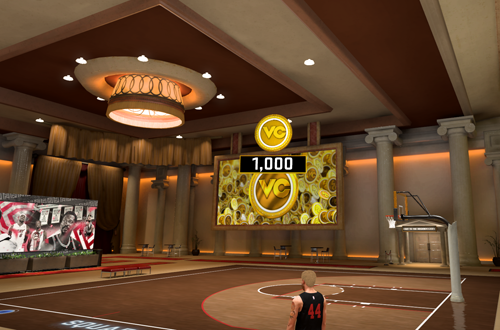 Ante-Up Court in NBA 2K20