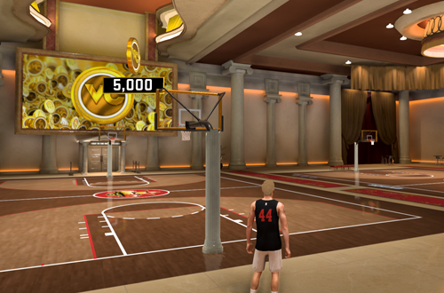 Ante-Up is a gambling mechanic in NBA 2K