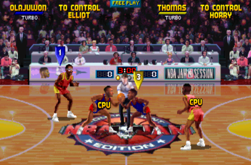 Players on Wrong Teams in NBA Jam TE Arcade