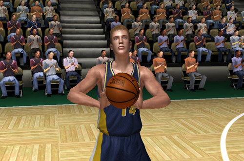 Sarunas Jasikevicius in NBA Live 06