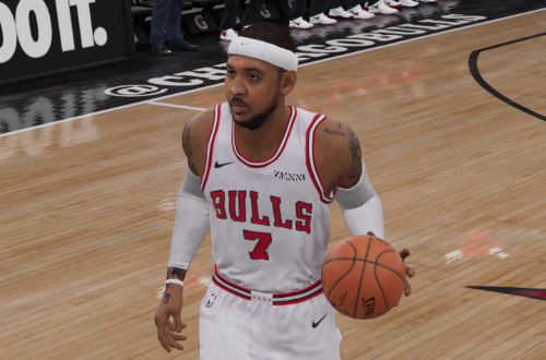 Carmelo Anthony on the Bulls (NBA Live 19)
