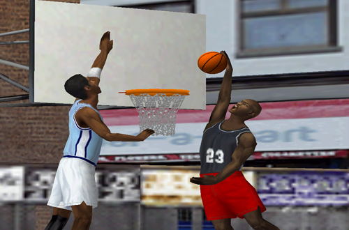 Michael Jordan in 1-on-1 (NBA Live 2000)