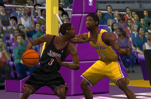AI vs Kobe in NBA Live 2001