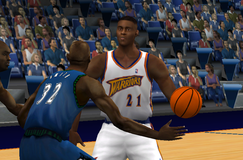 Danny Fortson in NBA Live 2001