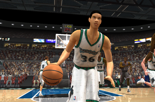 Igor Rakocevic in NBA Live 2003