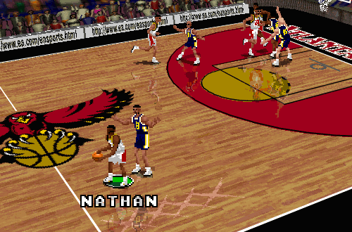 Nathan Howard in NBA Live 96