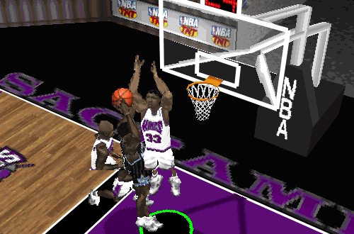 Kings vs Magic in NBA Live 97