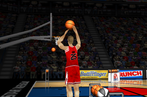 Three-Point Shootout in NBA Live 98