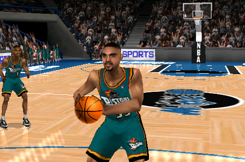 Grant Hill in NBA Live 99