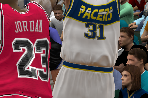 Unused Indiana Pacers Jersey in NBA 2K11